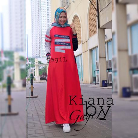 Kiara Dress Red