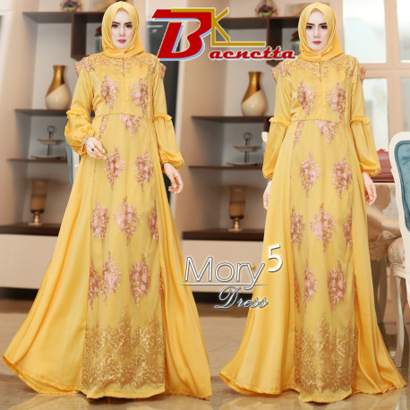 Mory Dress Yellow