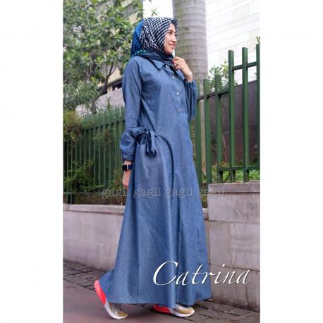 Catrina Dress Blue
