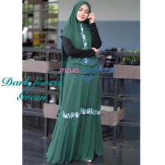 Indira Dark Green