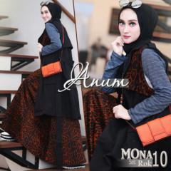 Mona Red Black