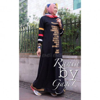 Rania Dress Black
