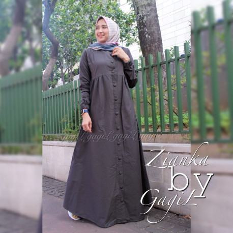 Zianka Dress Dark Green