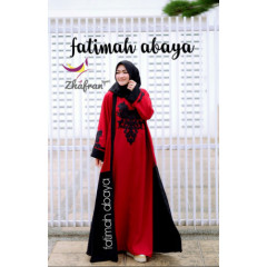 Abaya Fatimah Red
