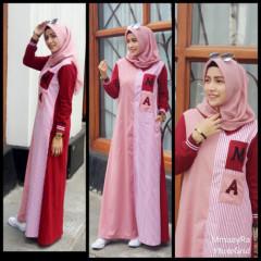 Abaya Maroon