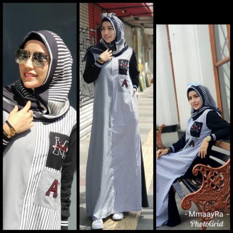 Abaya Navy