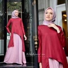 Aiza Maroon Pink