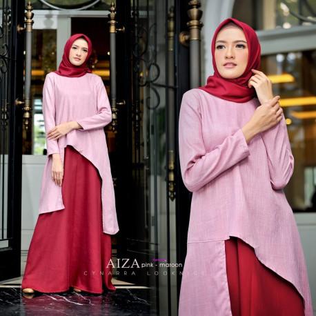 Aiza Pink Maroon