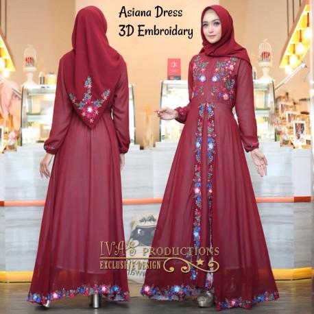 Asiana Maroon