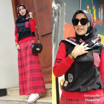 Kamara Black Red