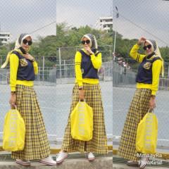 Kamara Navy Yellow