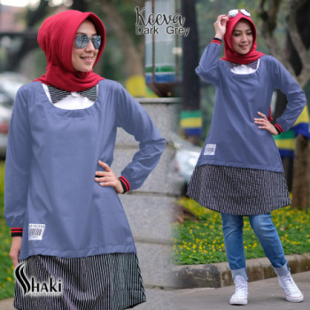Keeva Tunik Dark Grey