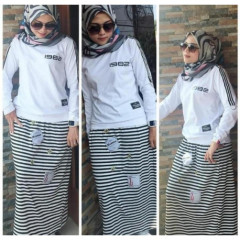 Stripe 4 White
