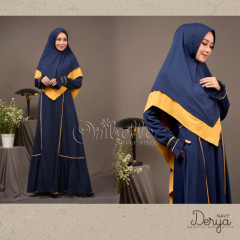Derya Dress Navy