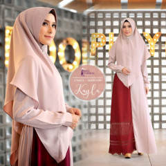 Kayla Camel Maroon