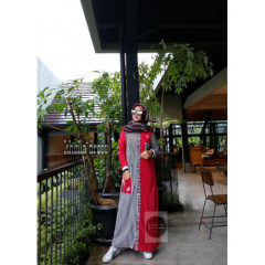 Kheila Stripe Red