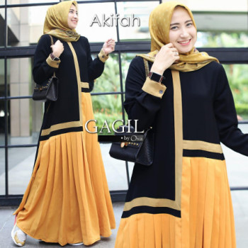 Afikah Dress Kunyit