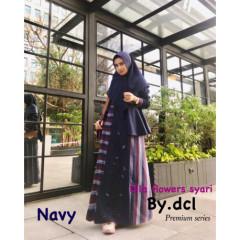 Dila Flower Navy