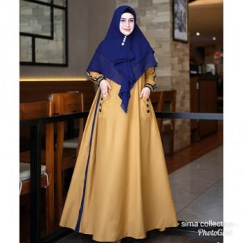 Kacina Dress Mustard