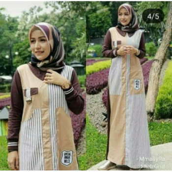 New Abaya Dress Brown
