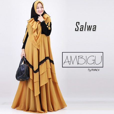 Salwa Dusty Mustard