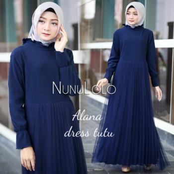 Alana Dress Navy