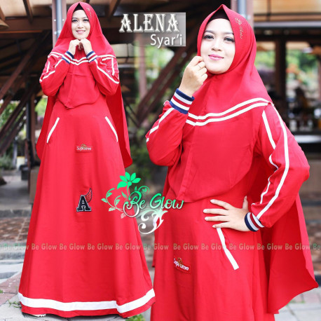 Alena Set Red