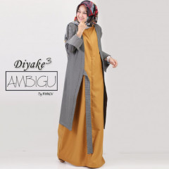 Diyake 3 Soft Mustard