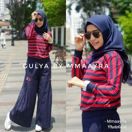 Gulya Set Maroon