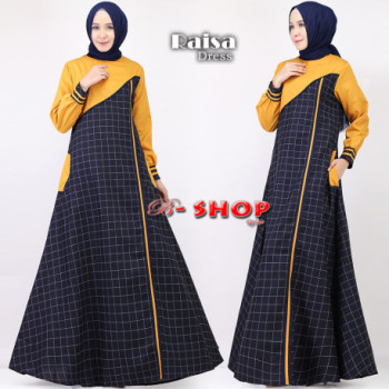 Raisa Dress Kunyit