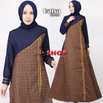 Raisa Dress Navy
