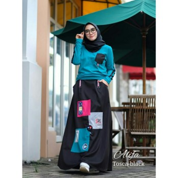 Alifa by Adhadia Tosca Black