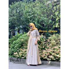 Ayana Dress Dcl Yellow