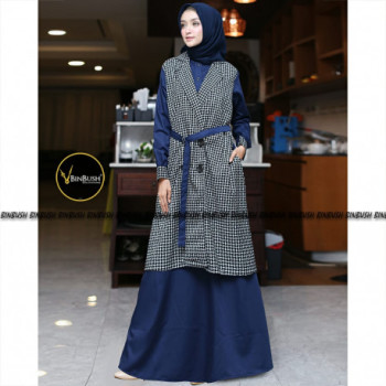 Frozen Dress Navy