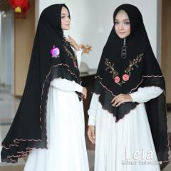 Khimar Leia Black