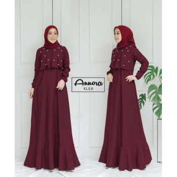 Klea Dress Maroon