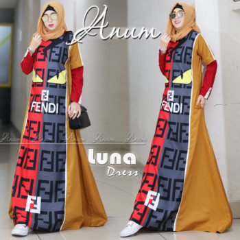 Luna Dress Mustard