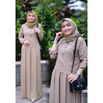 Naura Dress Mocca