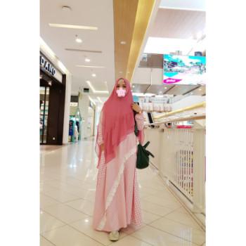 Cantika Syar'i Pink