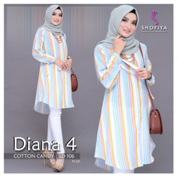 Diana Top Blue