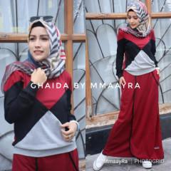 Ghaida Set Maroon