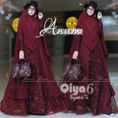 Qiya 6 Maroon