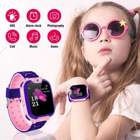 Kids Smart Watch Pink