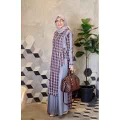 Kanaya Dress Grey
