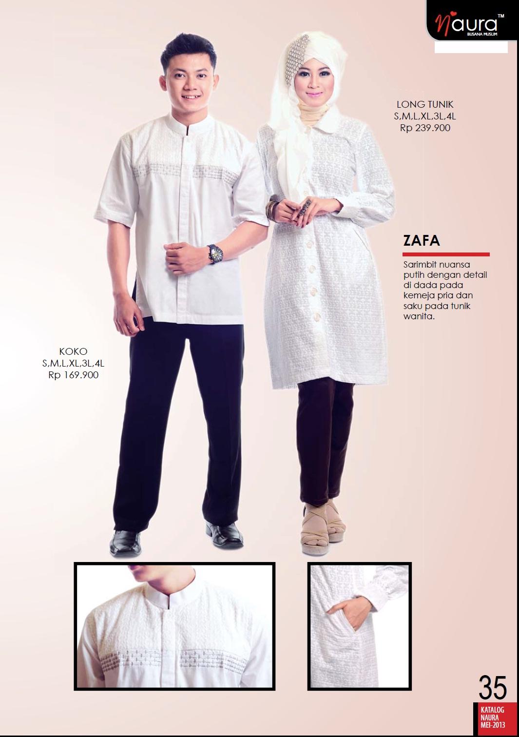 Zafa By Naura Baju Muslim GAMIS Modern
