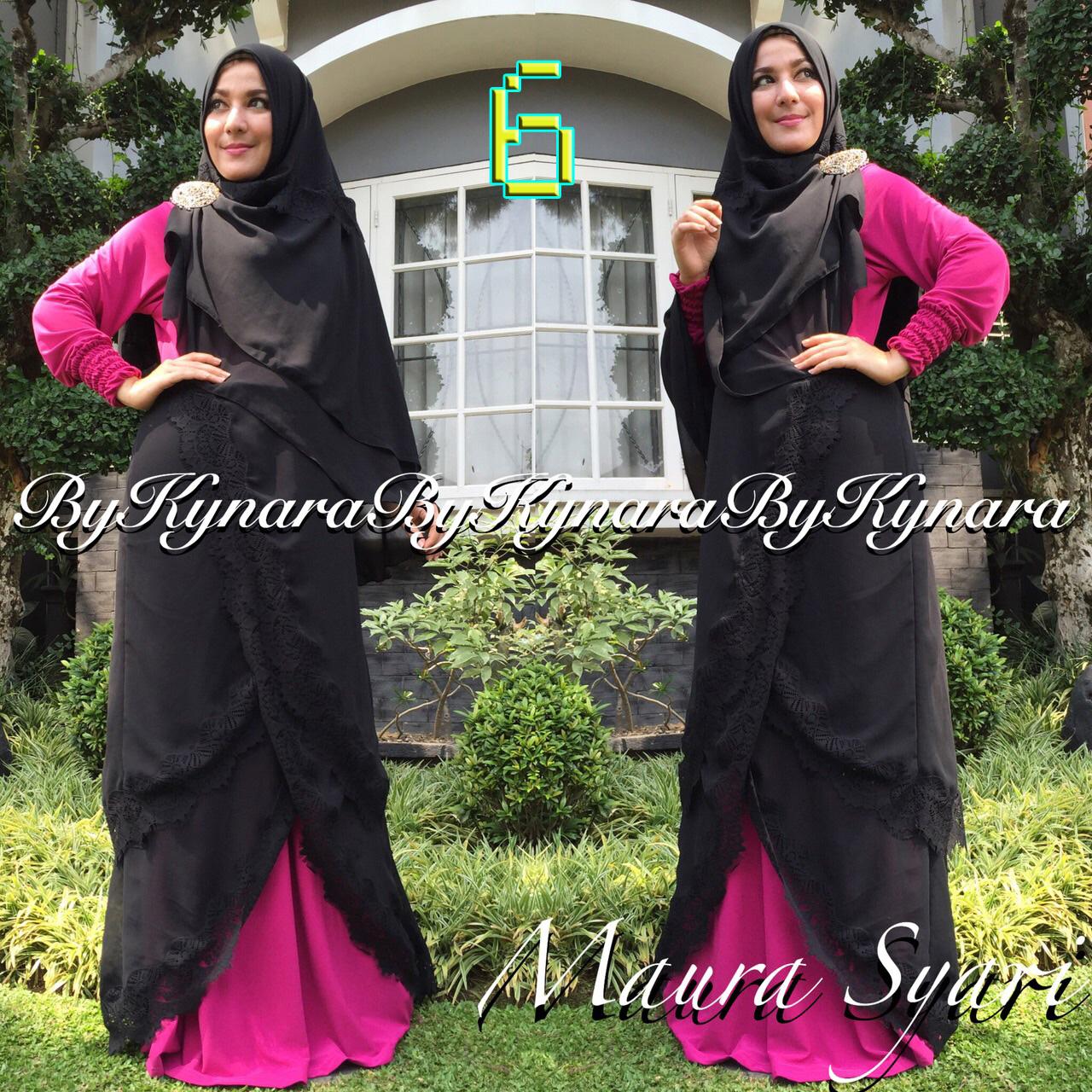 Maura Syar I By Kynara 6 Baju Muslim Gamis Modern