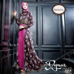 Dynar Dress Violet Pink