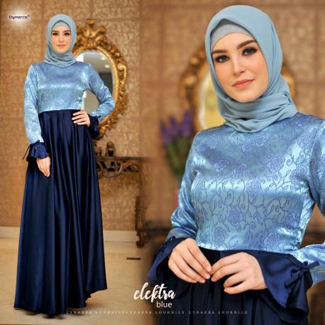Electra dress by cynarra Blue