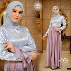 Electra dress by cynarra silver