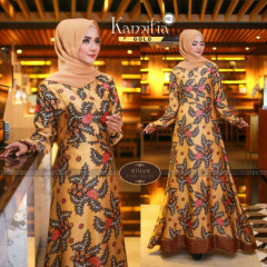 Kamilia Dress Gold